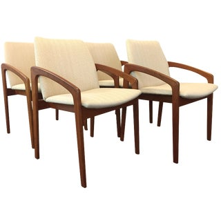 Vintage Kai Kristiansen Dining Chairs - Set of 4