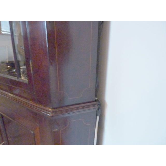 Antique English Mahogany Corner Cabinet, Ca. 1800 - Image 5 of 8