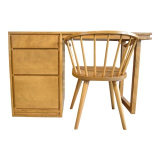 Russel Wright for Conant Ball Desk and Chair