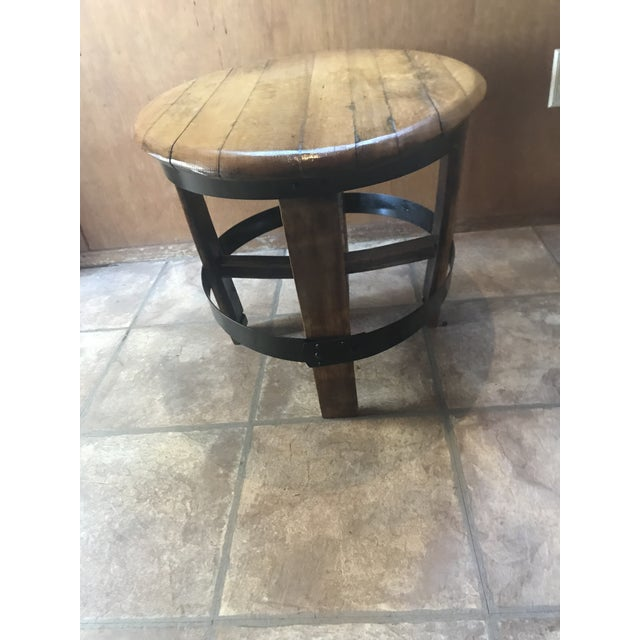 Image of Barrel Center Table