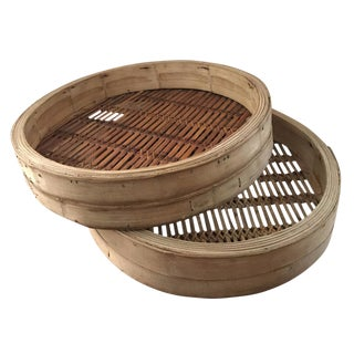Extra Large Bamboo Steamer Basket