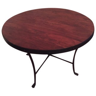 Pottery Barn Malone Bistro Side Table