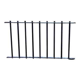 Industrial Iron Fencing
