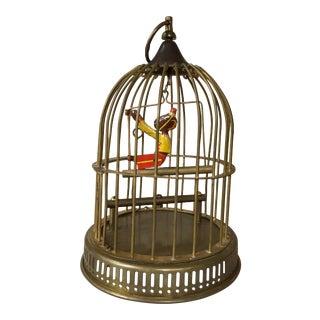 Vintage Brass Birdcage