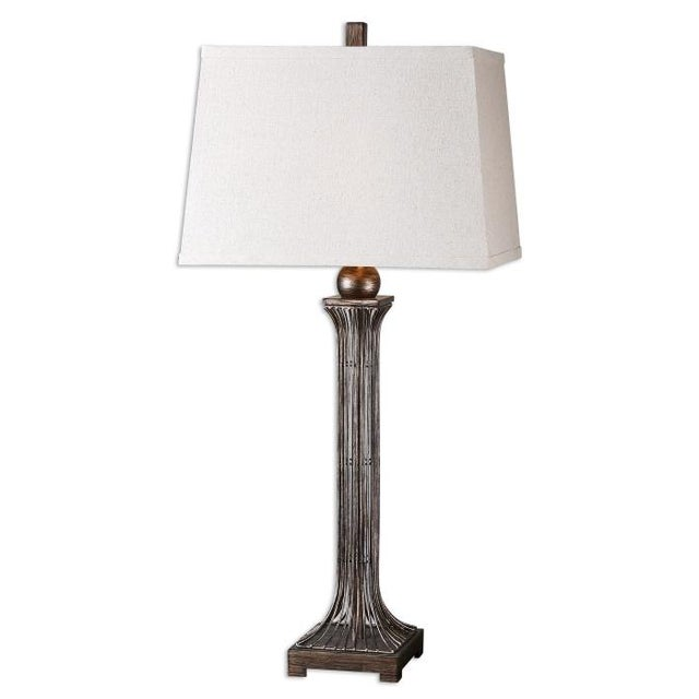 Linen Shade Wire Lamp - Image 1 of 4