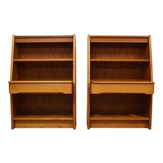 Danish Modern Teak Nightstands- a Pair