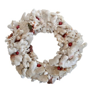 Hand Made Coral Wreath