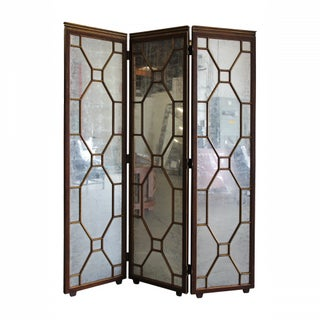 Hickory White Paxton Mirrored Screen