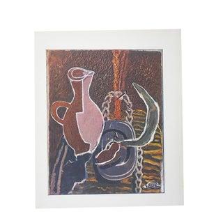 Vintage Mid-Century Braque Lithograph