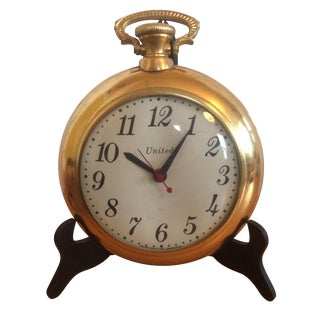 United Clock Corp. Jumbo Pocket Watch