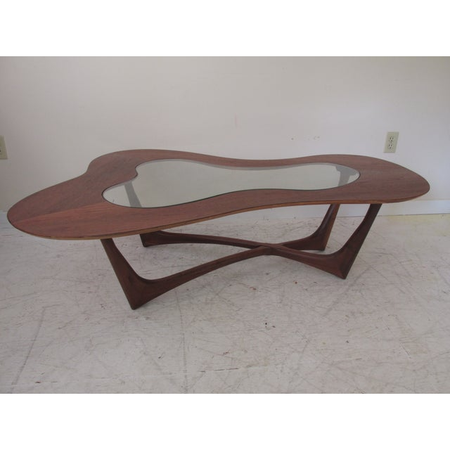 Image of Vintage Biomorphic Coffee Table by Erno Fabry