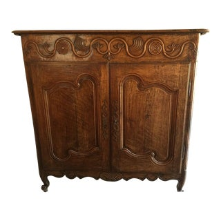 Italian Fruitwood Side Cabinet
