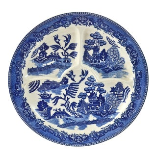 Blue Willow Tray