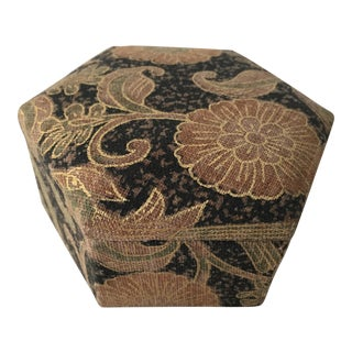 Vintage Brocade Trinket Box