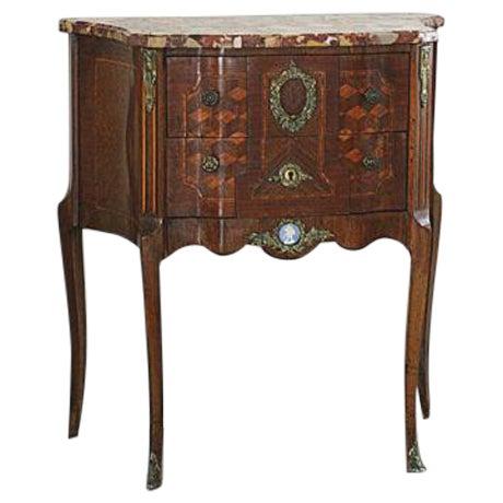 antique 19th century louis xvi style commode chairish. Black Bedroom Furniture Sets. Home Design Ideas