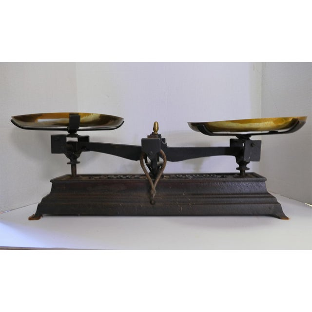 French Vintage Iron Scale - Image 2 of 6