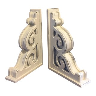 Large Rustic Corbels / Brackets - Pair
