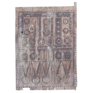 19th Century Tribal Cedar Door