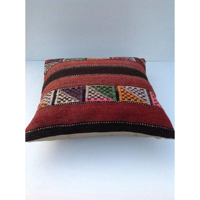 Turkish Kilim Pillow - Image 3 of 5