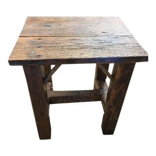 War Admiral Side Table