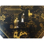 Image of Chinoiserie Lacquer Wood Box