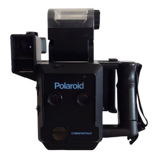 Vintage Polaroid Miniportrait Model 203 Camera