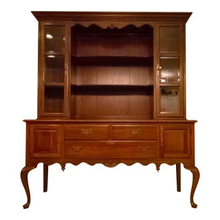 Ethan Allen Georgian China Cabinet