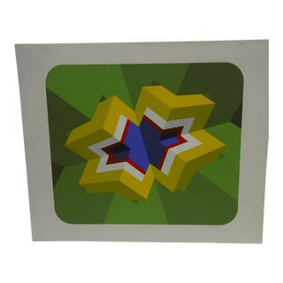"""Limited Signed Artists Proof Print """"Trylon Iii"""" by Mike Kutchner"""