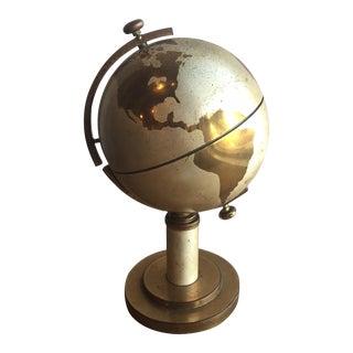 Vintage Brass Globe