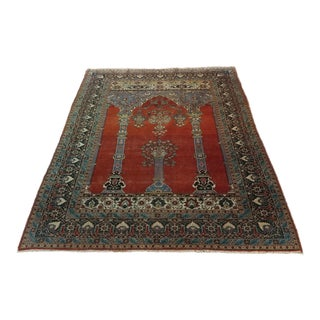 Antique Hand Made Persian Mashhad Rug c.1920s