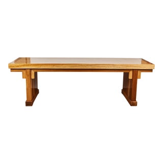 Early 21st Century Chinese Solid Cedar Table
