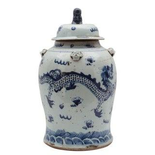 """Sarreid Ceramic Urn, 18"""" Ginger Jar, Lowest Price"""