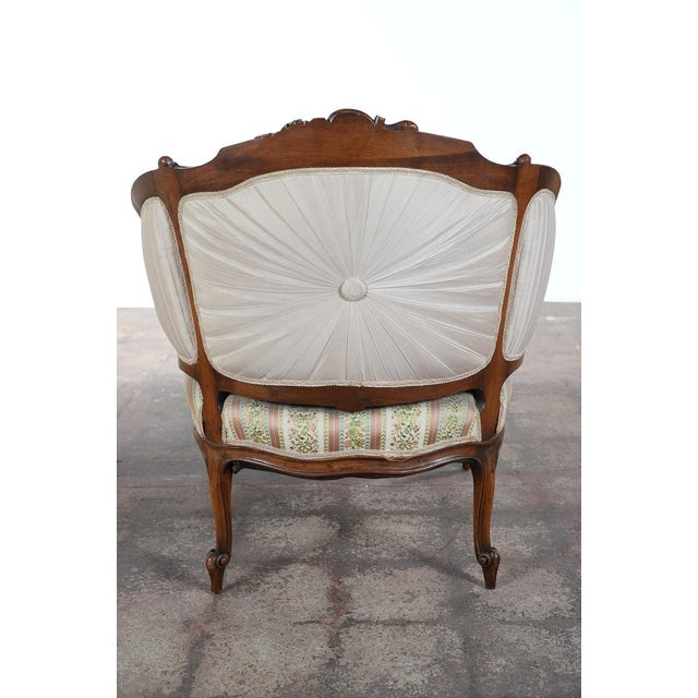 19th c louis xv mahogany french chaise lounge chairish for 19th century chaise lounge