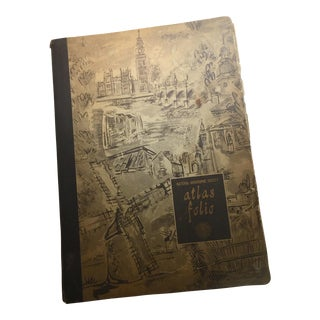 1958 National Geographic Society Atlas Folio