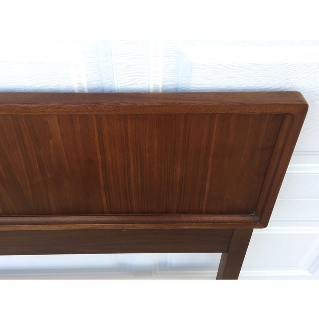 Image of Mid Century Walnut King Headboard