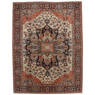 Antique Persian Heriz Style Area Rug - 8' x 11'