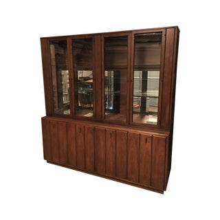 1960s Vintage Broyhill China Cabinet