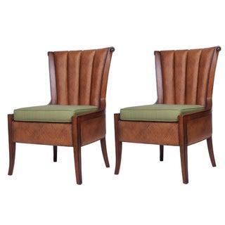 David Francis Portofino Occasional Chair - Set of 2
