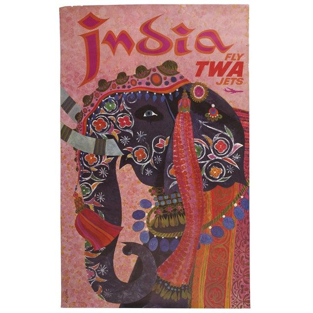 Image of Original TWA Travel Poster