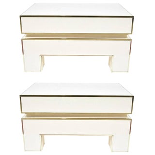 Pair of Alain Delon for Maison Jansen Nightstands