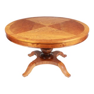 19th-C. Swedish Biedermeier Table