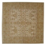 """Image of Square Zeigler Style Carpet - 6'6"""" x 6'8"""""""