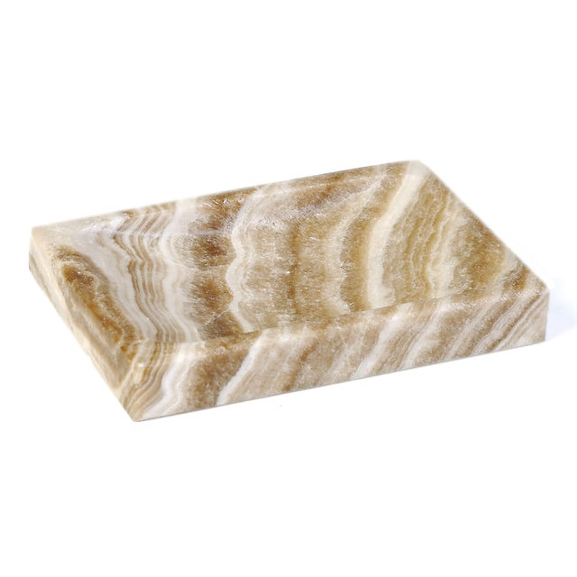 Image of Solid Marble Paperweight - A Pair