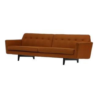 Pair of Bracket Back Sofas by Edward Wormley for Dunbar