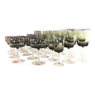Reizart Gorham Spring Green Glasses - Set of 36
