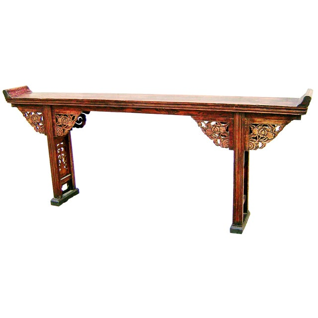 Image of Antique 1800s Chinese Altar Table