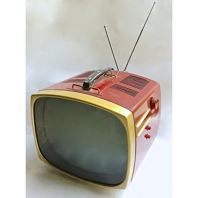 Mid-Century Modern RCA Victor DeLuxe Portable TV - Image 2 of 8