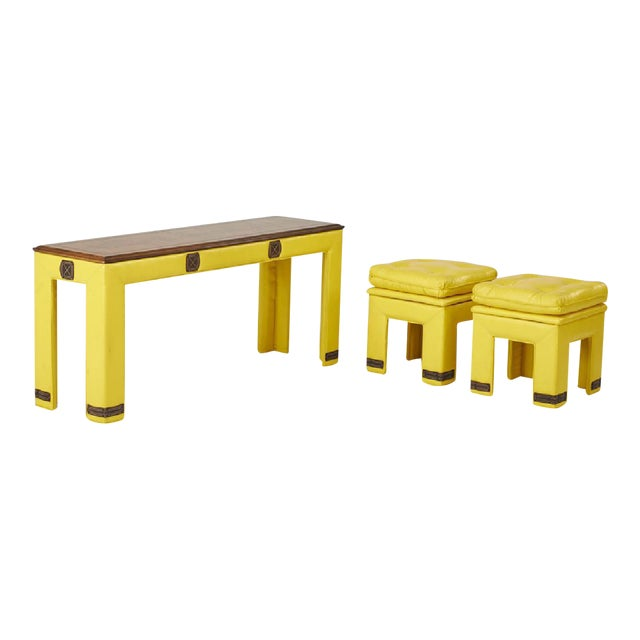 Adrian Pearsall 'Sunshine' Tables - Set of 3 - Image 1 of 7