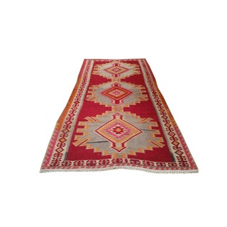 5′ × 8′ Vintage Kilim Hand Made Rug - Size Cat. 5x7 5x8 6x9