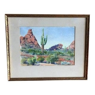Luigi Sciocchetti Southwestern Landscape Painting